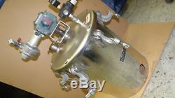 Graco High Pressure POT 5 Gallon stainless I96A series 236149 Agitator LK binks