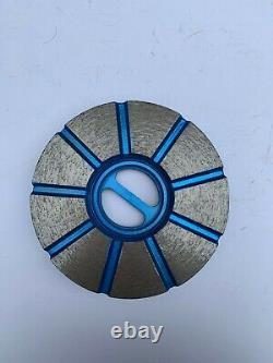 Granite engineered stone countertop grinding tools 4 snail-lock 3-step 3pcs/set