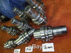 Guhring HSK-A 63 16mm 14mm 12mm Hydraulic End mill Tool Holder Chuck GM300 4399