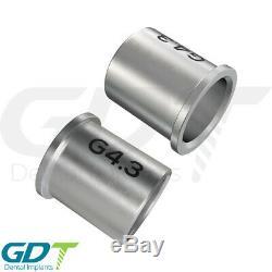 Guided Surgery Drills Ø3.2 Set + Sleeve External Irrigation Dental Implant Tool