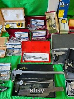 HUGE Lot of New & Used NSK Micrometers Calipers Misc Machinist Tools Japan AS-IS