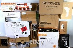 HUGE Wholesale Lot of TOOLS & Consumer Electronics, 55 items, MSRP over $1800