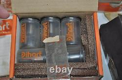 Huge Lot of 59 Dihart Precision Tools Titanium Coated Rapid Set Head Reamers