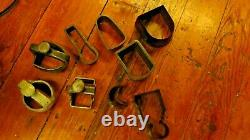 Huge lot of Tools Arch Punches 5 1/2 3 leather/rubber/metal Blacksmith Cobbler