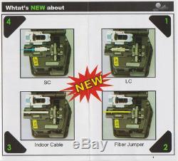 INNO VF-15 Optical Fiber Cleaver IFS-15 VF-15H fiber cutter knife + Storage box