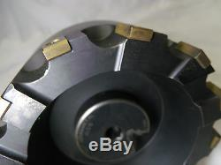 Ingersoll Max-I-Cut 5 inch shell face mill 12 carbide bit Erickson CV50 holder