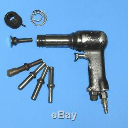 Ingersoll Rand 3x Avc12 Rivet Gun 8 Pc Lot Aircraft Aviation Tools Air Tools
