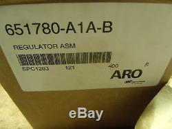 Ingersoll Rand ARO Downstream pressure regulator 651780-A1A-B 1250 psi NEW Box