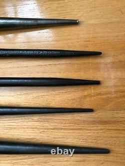 Iron Worker Tools-Klein & Williams-3-Spud Wrenches & 2-Bull Pins-Lot of 5