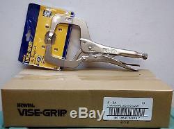 Irwin Vise-Grip 11R 11 Original Locking C-Clamp-10 pc. Lot