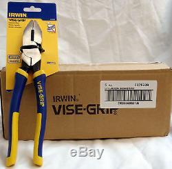 Irwin Vise-Grip 2078209 LP9 9-1/2 N. American Lineman's Pliers-Box of 10