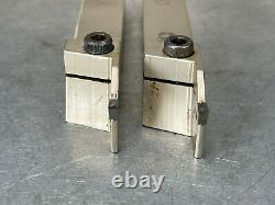 Iscar GHGR 19-3 Indexable Tool Holder 3/4 Cut-Grip Grooving Parting (Lot of 2)
