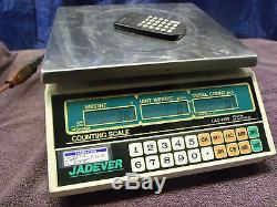 Jadever LAC-1260 Digital Counting Scale 26 lb x. 002 12 kg x 1g. SS remove top