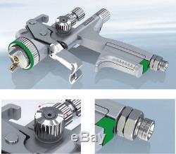 Jet 5000B Gravity air spray gun 1.3mm HVLP pneumatic spray gunspray paint gun