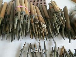 Joblot Antique Bookbinding Letter Finishing Tools. Offers