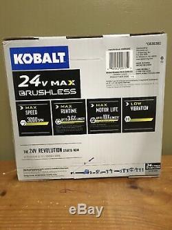 KOBALT 24V MAX LITHION ION- VaARIABLE SPEED KEYLESS BRUSHLESS JIGSAW- BARE TOOL