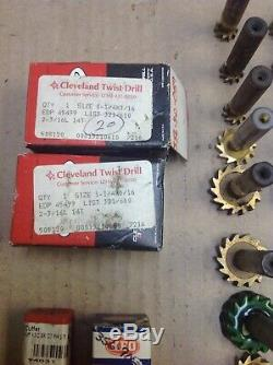 Keyseat Cutter Tool Lot KEO, Whitney, Niagara, Cleavland New & Used