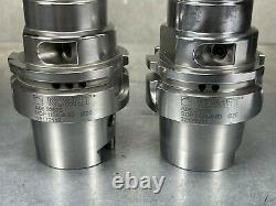 Komet HSK-63A Hydraulic Chuck 20mm A06-33570 Tool Holder HSK A63 (Lot of 2)