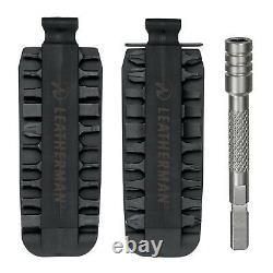 LEATHERMAN Skeletool CX Multi-Tool + Nylon Sheath, Bit Kit Set & Bit Extender