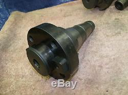 LMT Fette 12 inch face mill shell indexable 2.5 arbor hole 18 carbide bit CNC