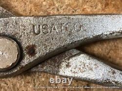 LOT 20 USED Cleco Pliers USATCO 04-62 Aviation Sheet Metal Tools FREE SHIPPING