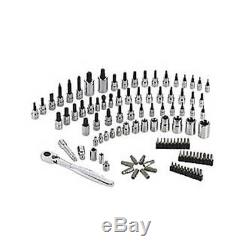 LOT OF FOUR Craftsman 105 Piece Bit Socket Wrench Tool Set #42022