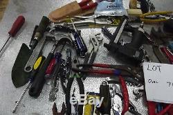 LOT OF over 70 MISCELLANEOUS HAND TOOLS, NEW& used lot 102 free shipping