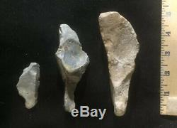 LOT Pre 1600 US Ancient Stone Tools Arrowheads Authentic Indian Artifacts