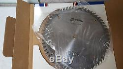 LOT of 4 FS Tool Carbide Tipped Saw Blade 10 x 60T 10 x 80T