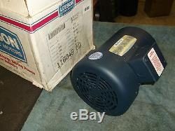 Leeson C6T17FC2E motor 1 H. P. 3 ph new in box 1725 rpm guaranteed