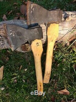 Lot 2 pcs Military USSR High Quality Steel Hatchet AXE Russian ZIK 1959 NOT USED
