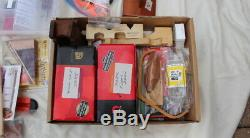 Lot Hobby Craft Model Ship Supplies, Books, Tools, Parts, Measuring Cutting 45lb