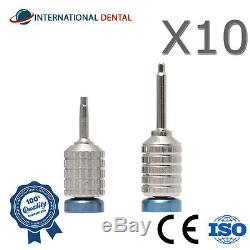 Lot Of 10 Hand Hex Drivers 1.25 mm, Dental Implant Abutment, Screws, Tools