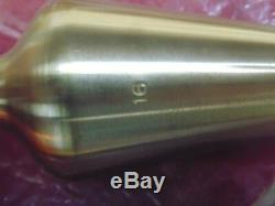 Lot Of 11 Standard Brass Plumb Bob Cst-16+lot Of 3 Original Orange Cord
