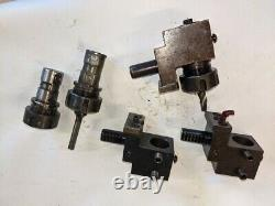 Lot Of 3 Emco 16mm Turret Tool Tooling Er Collet Holder