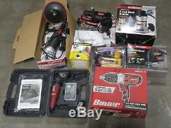 Lot Of 8 Assorted Saw Cutters, Grinders, Drills, Sanders, Etc. #159 @t