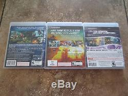 Lot of 4 PS3 Ratchet & Clank Games Crack in Time + Tools + Into Nexus + bundle