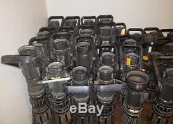 Lot of 40 Fire Hose Nozzle Akron Turbojet Fire Fighting Bunker Tools Used