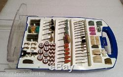 Lot of 5 Set of 100 pcs Rotary Tool Accessories Kit fits Dremel (10 x 100 pcs)