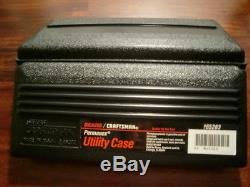Lot of 6 Vintage Craftsman Permanex Utility Tool Case 12 inch NEW 65295 & 65283