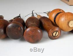 Lot of 8 Antique French Cobbler tools, Saddler, Leather, shoemaker, Collectible