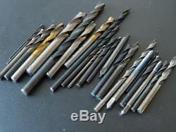 Lot of 86 Machinist bits, taps and countersinks. Various brands. Used