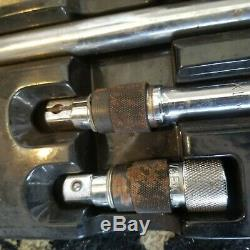MAC Tools SVE4EKLT 1/2-Drive 4pc Locking Socket Extension Set 3 5 10 15
