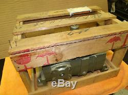 MAKISHINKO 151 Ratio Worm Gear Speed Reducer AKP 100LU 15 mfg. 980406 NEW