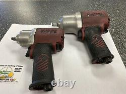MATCO TOOLS (MT2220) 3/8 Air Pneumatic Impact Wrench + 1/2'' Air Impact Wrench