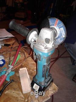 Makita 18V Hammer Drill, Impact Driver and grinder Combo Kit