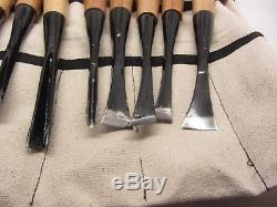Mastercarver Starter Wood Carving Tools Chisel Gouge Skew Set 13 Pc Tool Belt