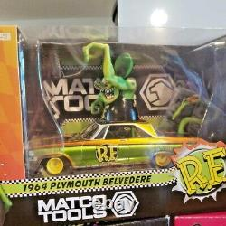 Matco Tools Rat Fink Die Cast Car Lot Plymouth Ford Chevy Hot Rods 124 Scale