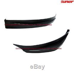 Matte Black Front Bumper Chin Lip Splitter Kit for 2014-2015 Optima Kia K5 Sedan
