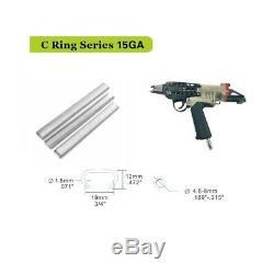 Meite SC7C-P 15 Gauge 3/4'' Pneumatic Hog Ring Ringer C Ring Tool Hog Ring Plier